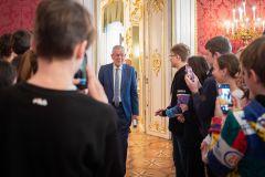 4A: Besuch beim Bundespräsidenten