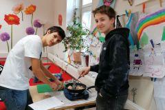 Kochworkshop der Lateinschüler (7. Klasse)