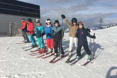 Skikurs 2. Klassen in Eben